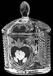 Crystal Cookie Jar P038