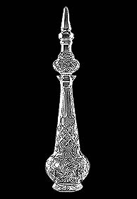 Crystal Decanter, persian bottle s002 (Image)