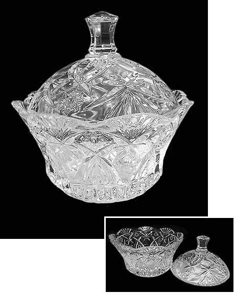 Crystal Candy Dish F216