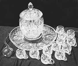 Crystal Punch Bowl Set (Image)