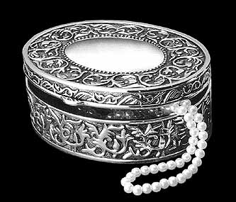 Silver Jewelry Box BF005 (Image)